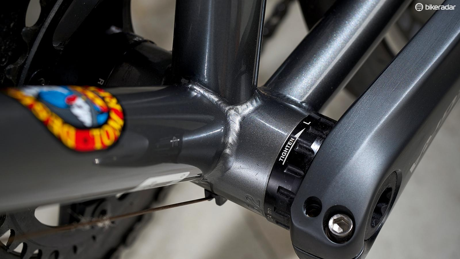 The Ritchey Logic butted tube design has been around since 1984