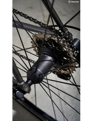 Shimano Ultegra compact groupset helps to save weight