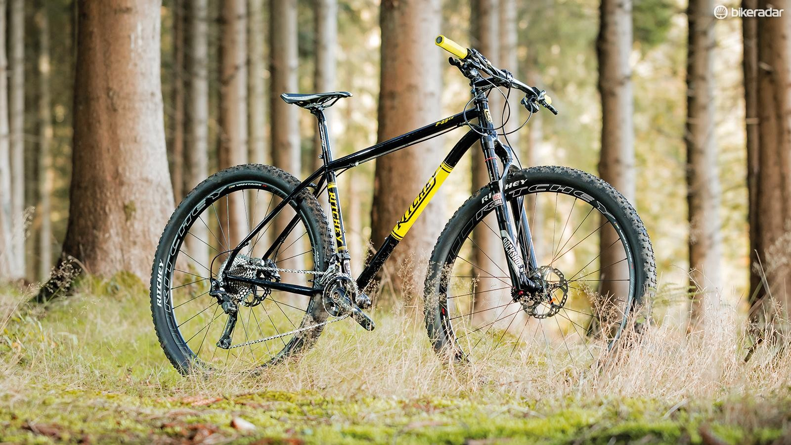 Ritchey's steel P-29er hardtail