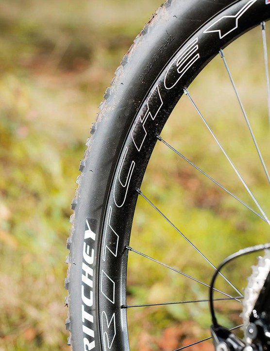 Ritchey's own tyres feature and there's clearance for up to 2.25in boots
