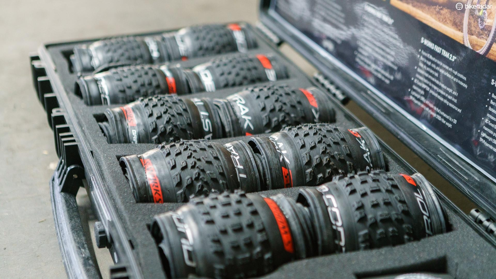 Specialized's new XC tyres