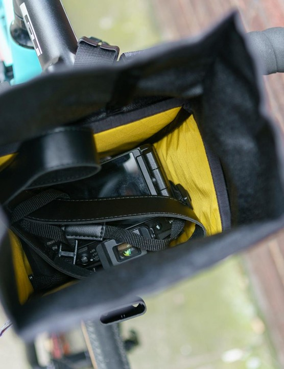 A snug fit for this mirrorless camera