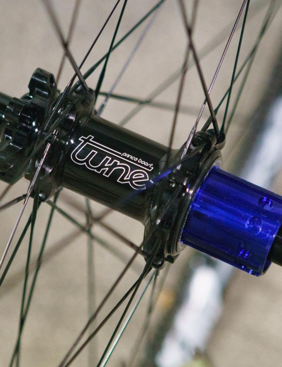 Boost and non-boost hubs are available
