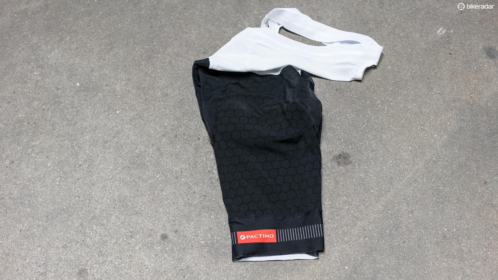 Pactimo's 12-hour bib shorts — the Summit Stratos