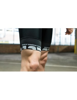 Thicker cuffs with grippers and a longer leg cut is a popular choice among the latest bib shorts