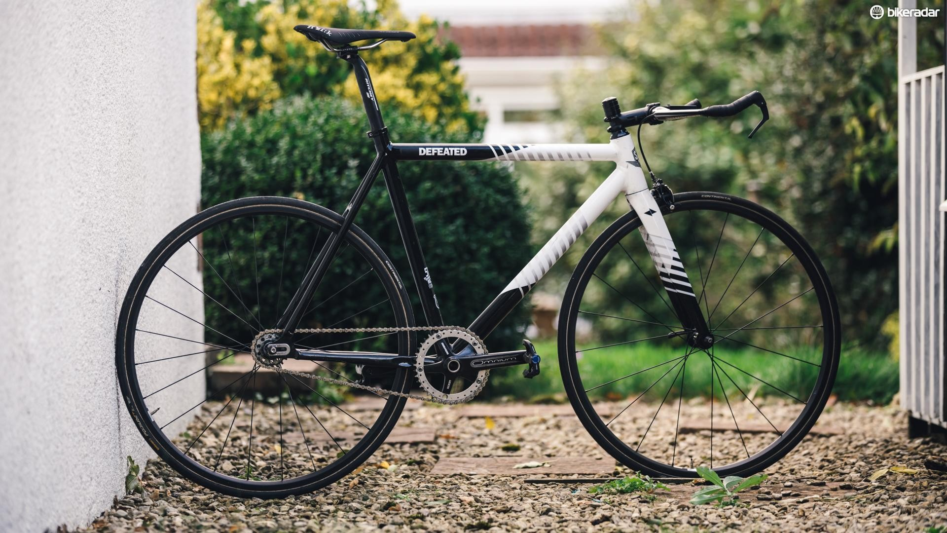 Fixies are dumb, but I love them — Jack's hill climb fixie