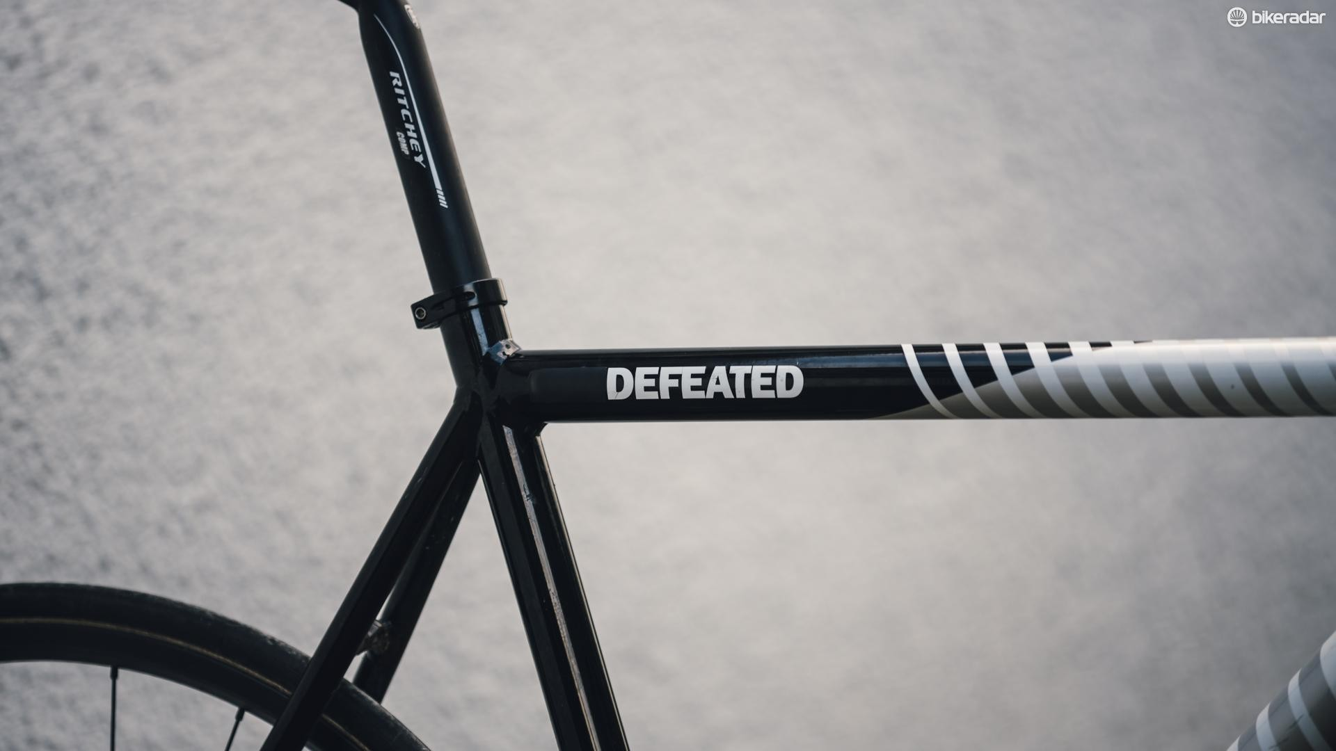 State Undefeated hill climb bike — fixed gear hill climb bike