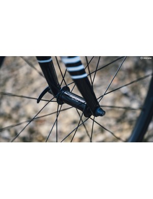 These hubs from Mack are the lightest fixed gear hubs around