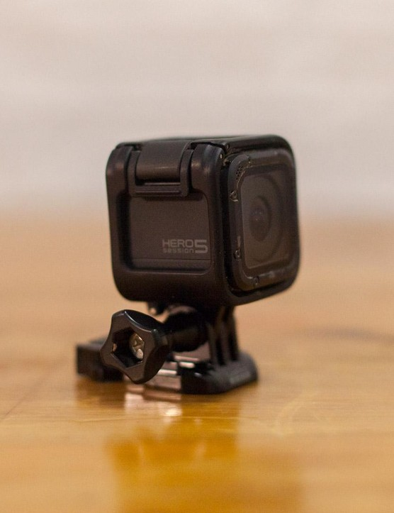 The Session 5 is one of the smallest action cameras on the market