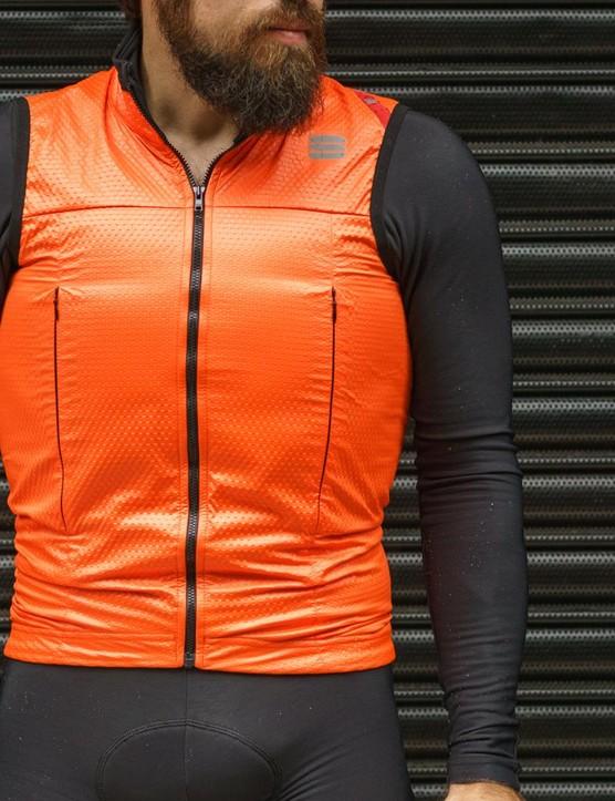 Sportful's Fiandre Strato wind jacket