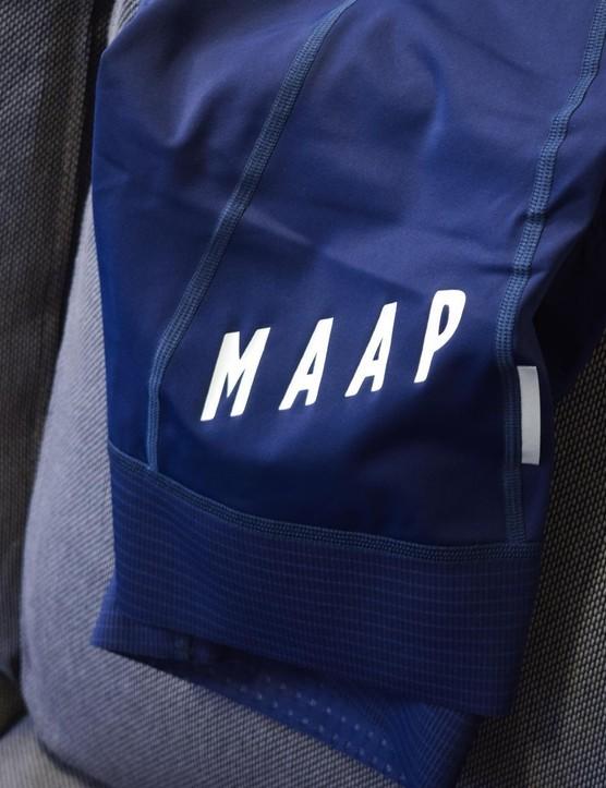 I like the simple design of the MAAP bib shorts