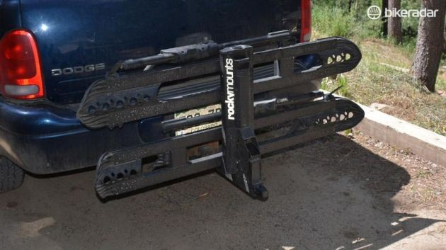RockyMounts' SplitRail hitch rack is solid, easy to load, and simple to live with, all hallmarks of a great bike rack