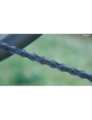 A road bike chain is an often-overlooked component that deserves love and regular cleaning