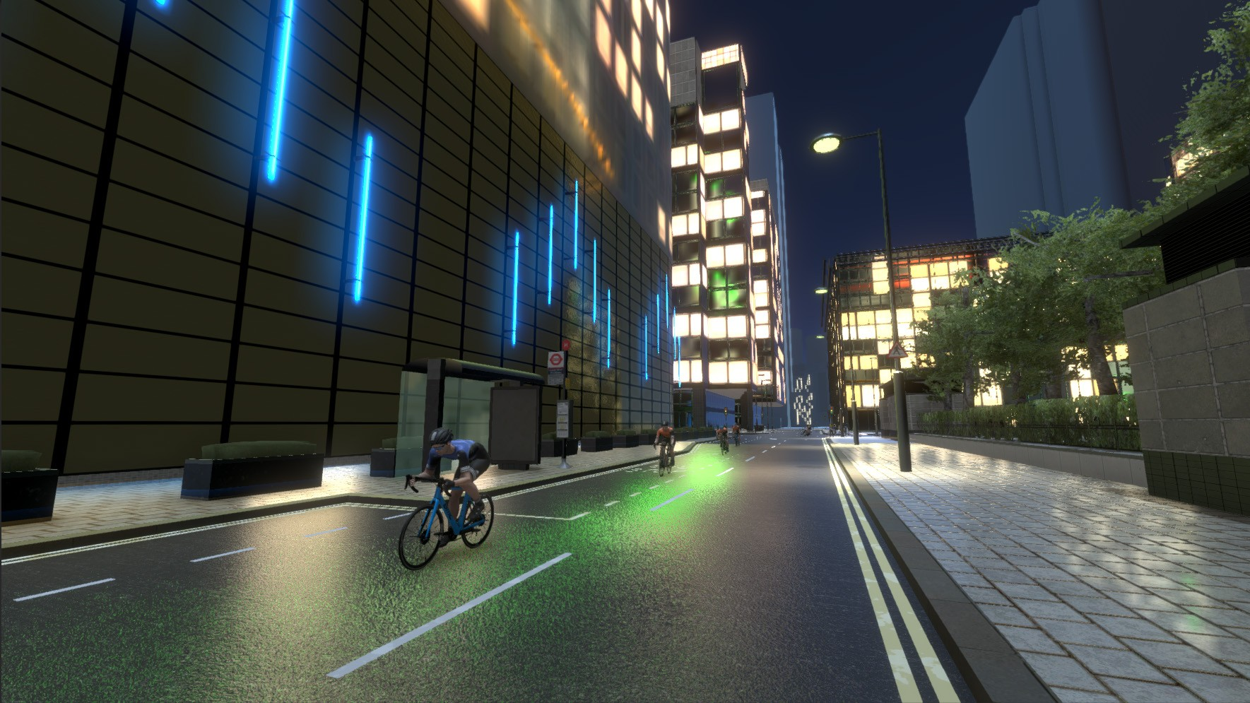Canary Wharf provides the setting for an urban crit course