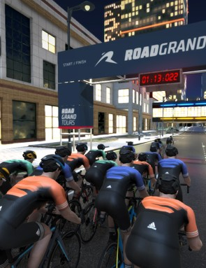 Road Grand Tours aims to provide an immersive virtual world in which to train and race