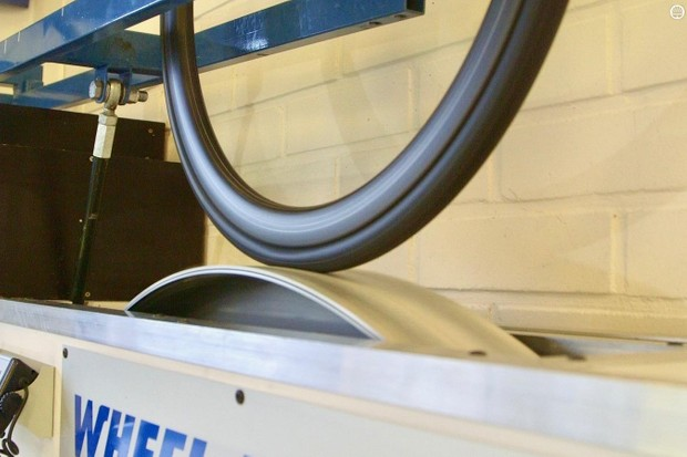 Wheel Energy tested tires for us on a smooth drum and a rough-surface drum