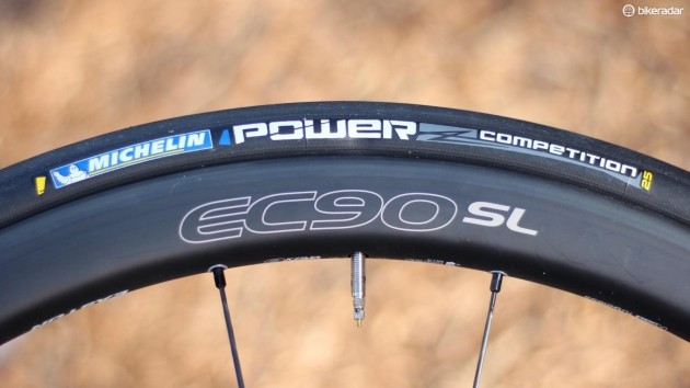 Michelin was the best clincher on test. And it seems to have better durability than the Schwalbe and Specialized tubeless models