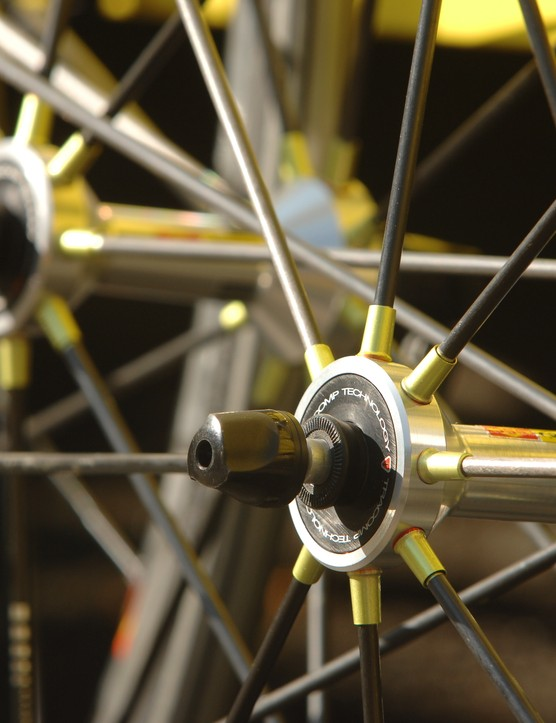 Mavic's new R-Sys wheels will be raced at the 2007 Tour de France