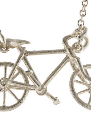 A beautiful piece of hand-made jewellery in precious metals