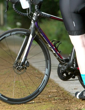Many road bikes now come with disc brakes