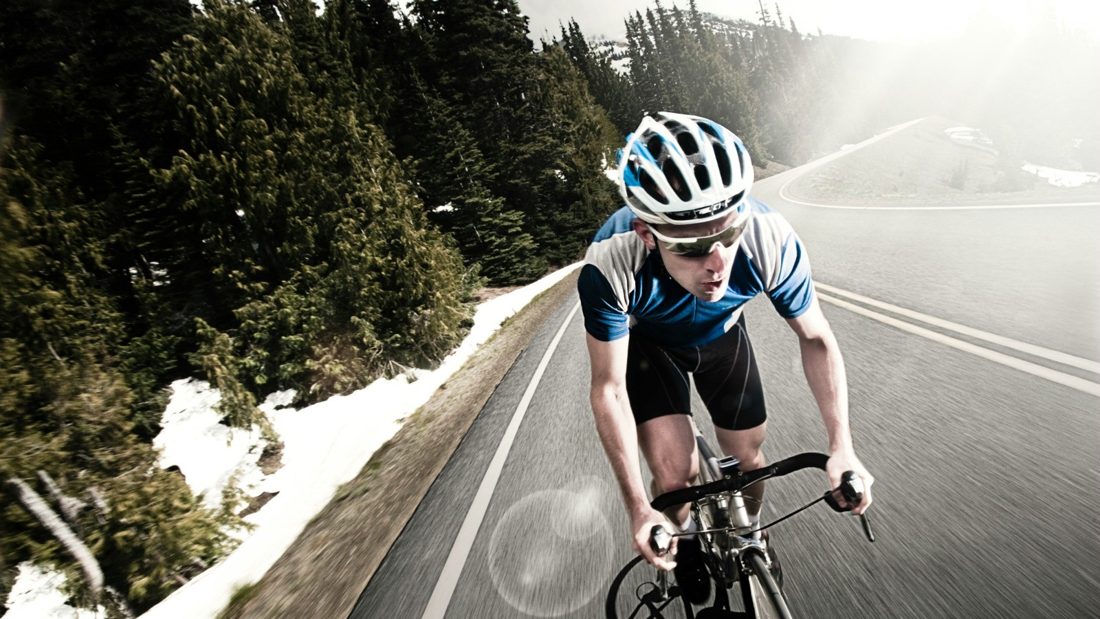 Information is flooding into the brain as we ride our bikes