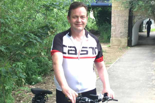 Rob's riding is helping him fight mental illness