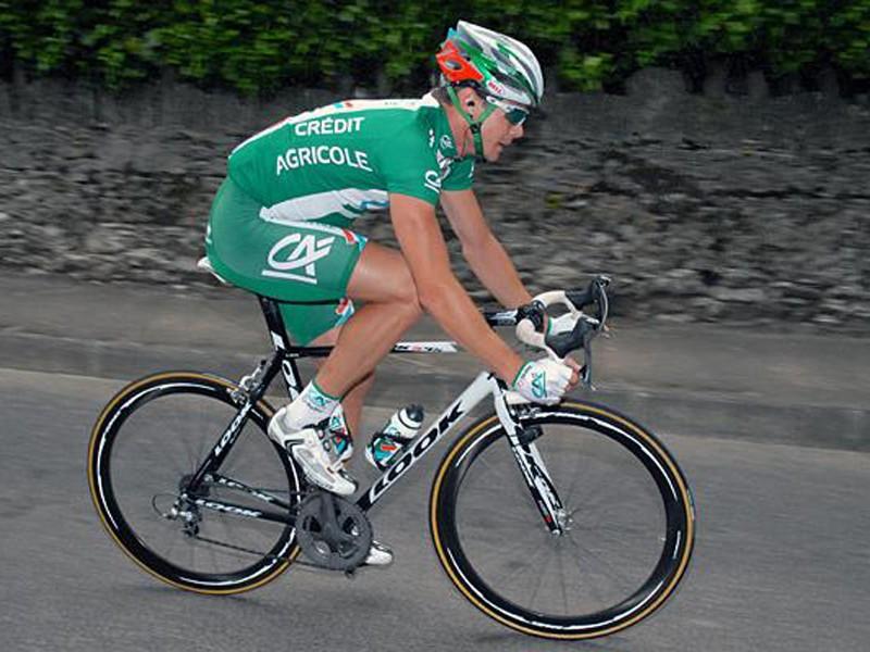 Nicolas Roche (C) won the Stephen Roche Grand Prix in June.