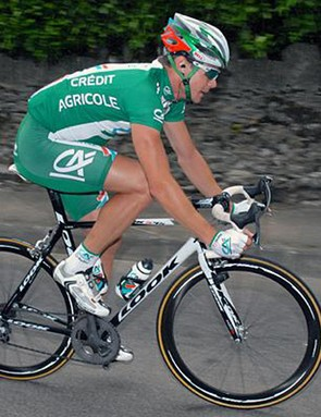 Nicolas Roche (C) won the Stephen Roche Grand Prix in June.