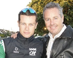 Nicholas (l) and Stephen Roche.