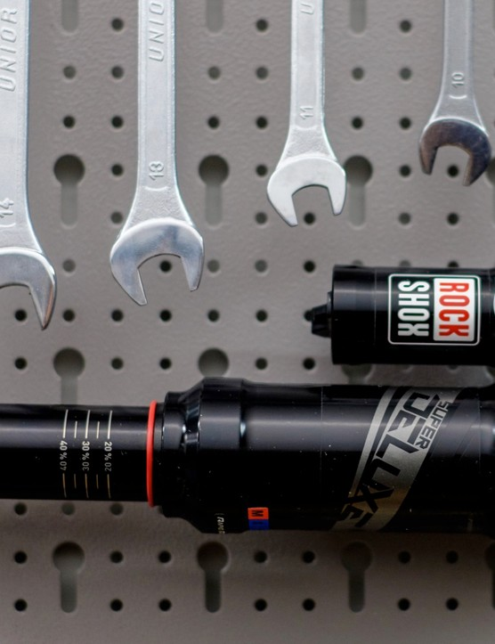 Rockshox' Deluxe and Super Deluxe shocks herald a new era of metric-sized dampers