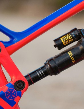 RockShox's Metric length Super Deluxe keeps the back end in control