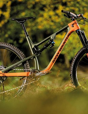 The BC Edition Instinct has more travel, a wider bar, bigger tyres and more powerful brakes than the standard bike