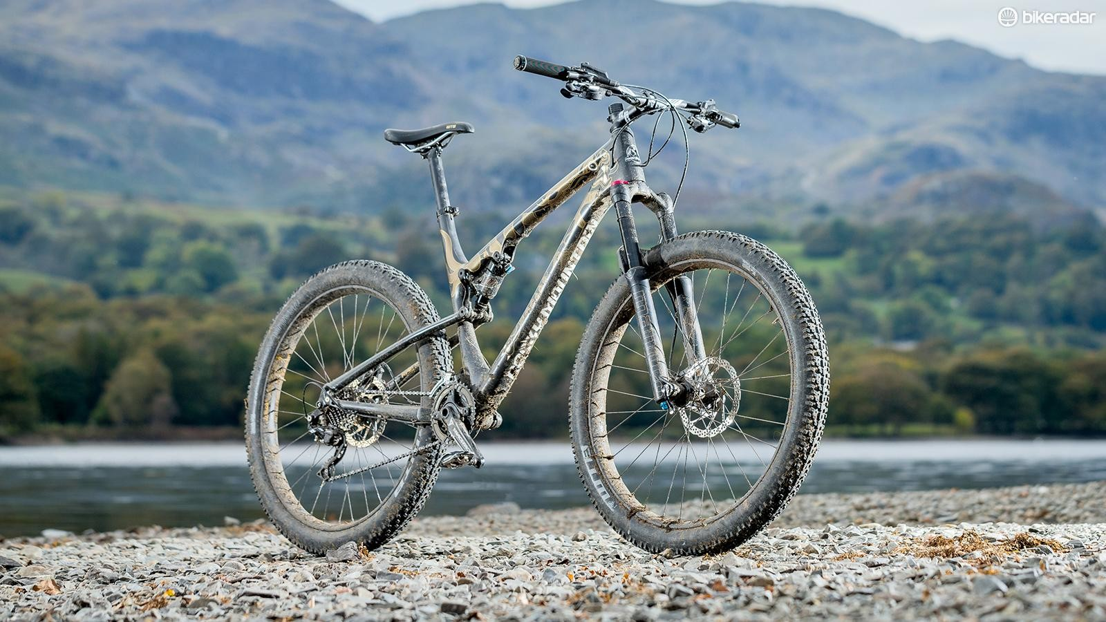 Rocky Mountain's Sherpa doesn't pretend to be a trail bike, but it's pretty good at its intended bikepacking function