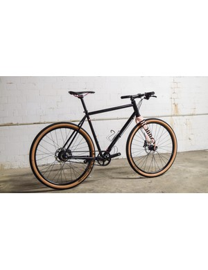 The bike's a looker!