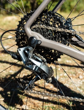 SRAM Force gears give a decent range