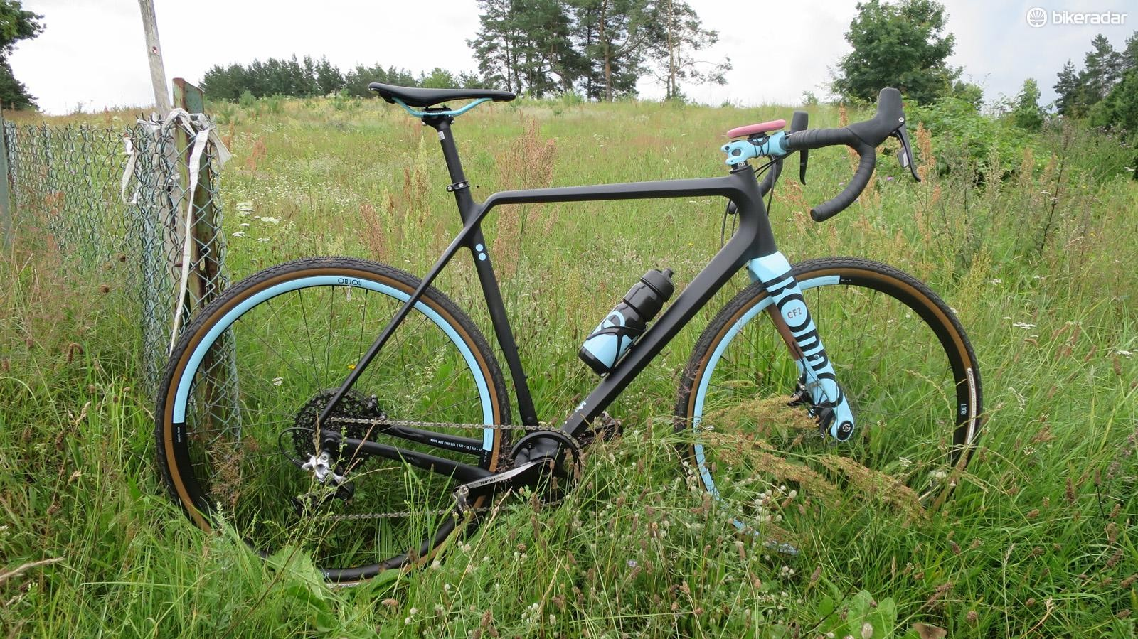 The Rondo CF2 was the bike I got to test on Poland's varied terrain