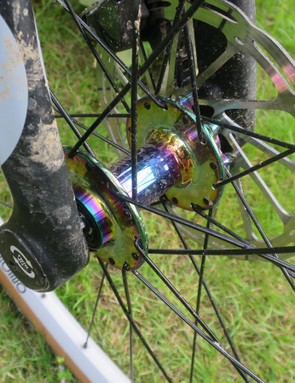 We like the cool tie-dye finish on the hubs