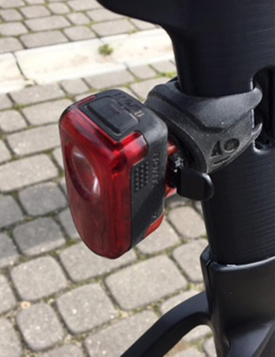 Until you realise it's a neat solution for fitting a rear light