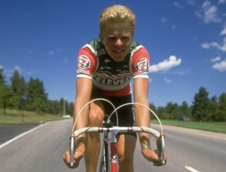 Team 7-Eleven's Ron Kiefel in 1986.