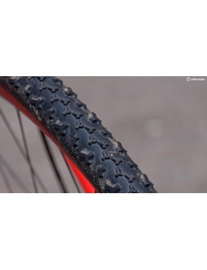 The tread on the Baby Limus tyres is good on sticky mud and as an all-rounder