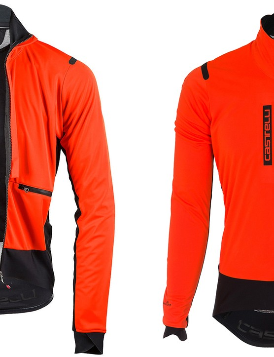 The RoS Jacket has a double front opening, four pockets and a fitted but stretching cut