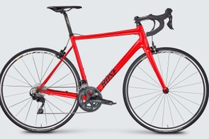 The Pro SL's slick alloy frame is easily mistaken for carbon