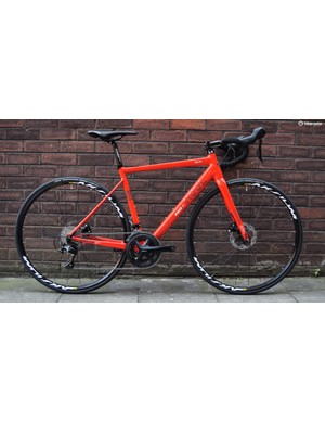 Rose's affordable disc road bike has a great spec and a really nicely finished alloy frame
