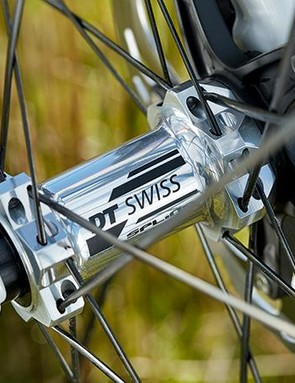 The DT Swiss wheels were impressive performers, with front and rear having thru-axles