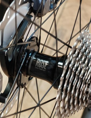 Rose's new carbon wheels are built around its own hubs