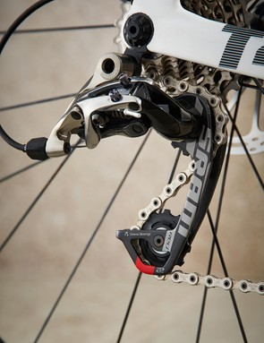 Top-end SRAM Red gears take care of shifting