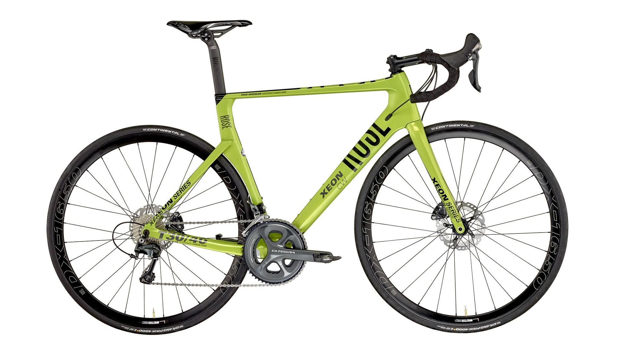 The Rose Xeon CWX-3000 is an eye-catching and capable bike