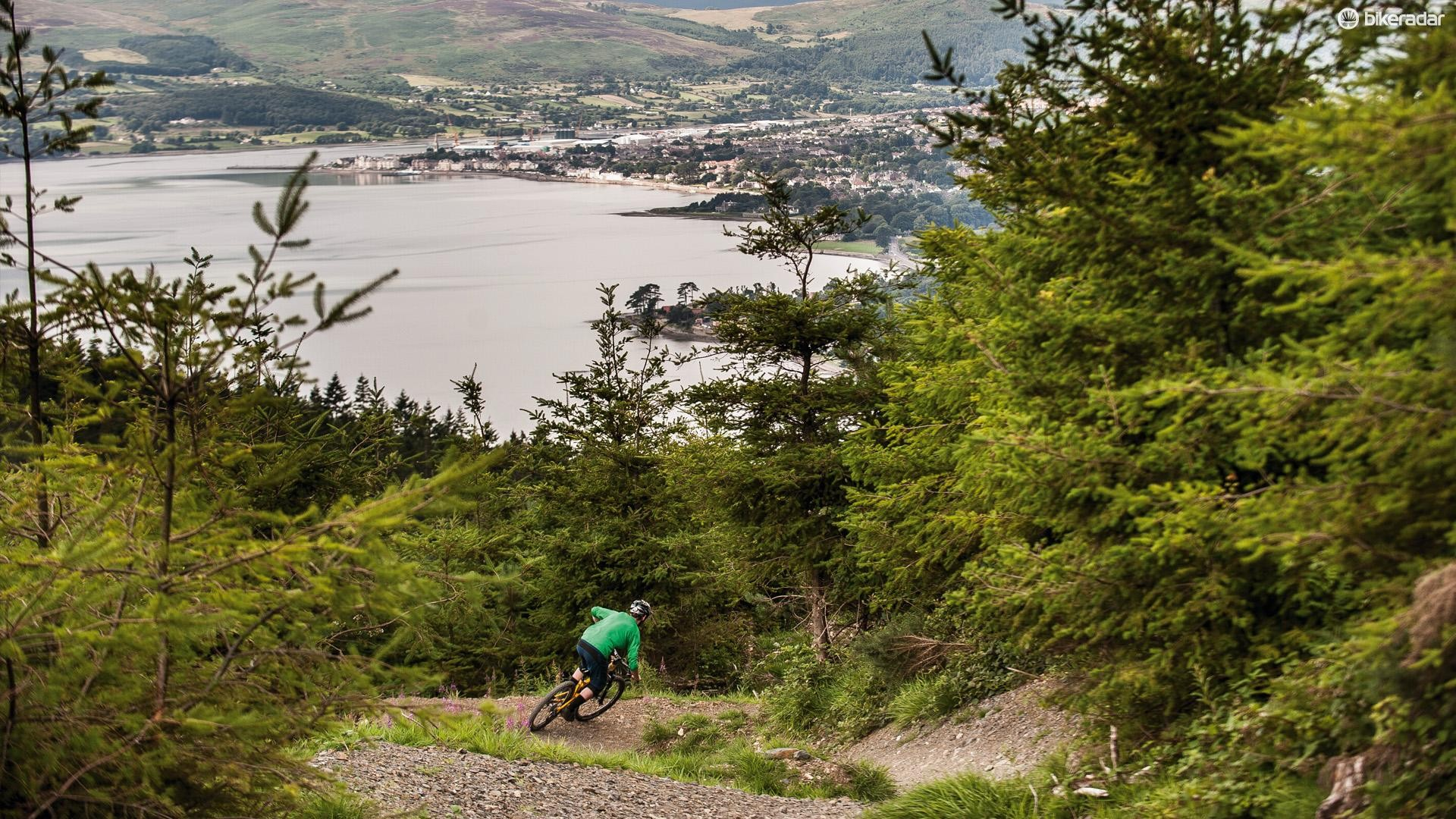 A long climb reveals some stunning views and exhilarating descents at Rostrevor