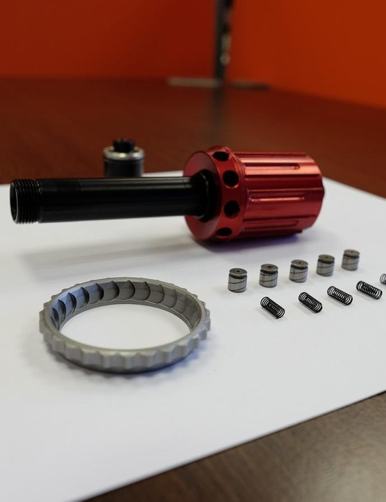 The Rvolver hubs can be stripped down quickly and without any specialist tooling