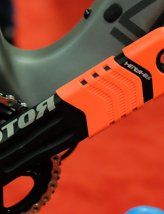 The Hawk is Rotor's top-end crank for trail and enduro riding